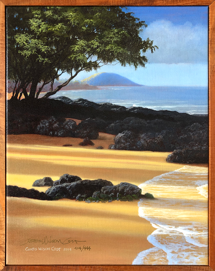 "Ulua at Dawn 1 Piece Frame 14"" x 11"""