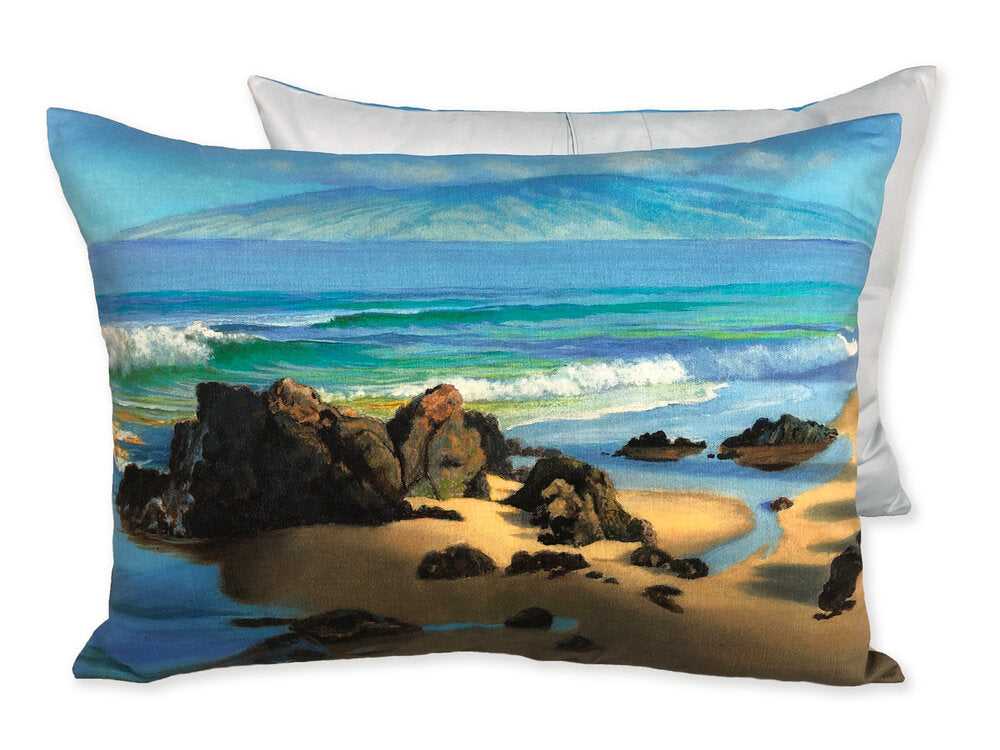 "Beach Velvet Pillows, 17.5"" x 23.5"""