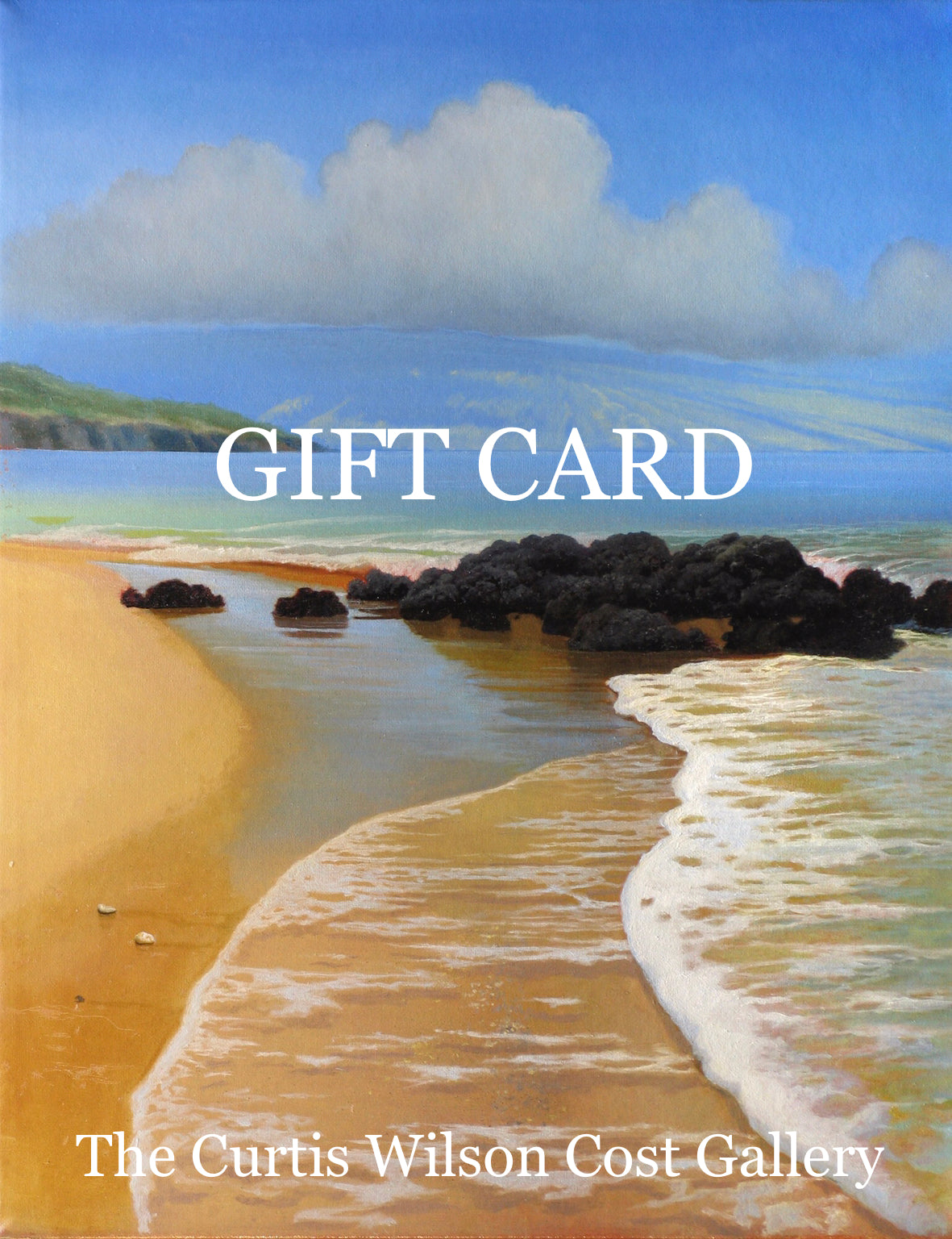 Curtis Wilson Cost Gallery gift card
