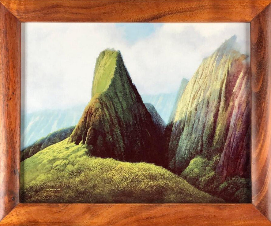 "'Iao Valley, Metal Print in 1 Piece Frame, 8"" x 10"""