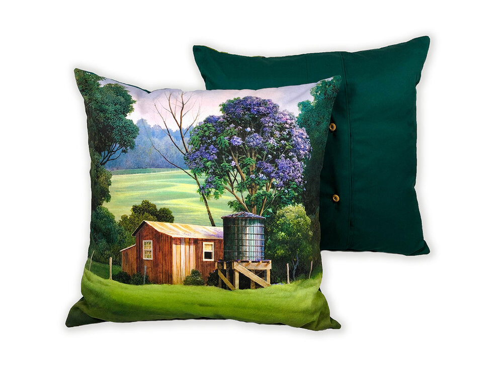 "Lavender Rain in Full Bloom Pillows, 17"" x 17"""