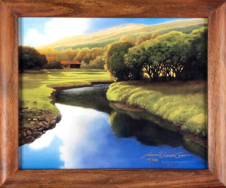 "Moloka'i Calm, Metal Print in 1 Piece Frame, 8"" x 10"""