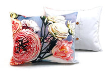 "Load image into Gallery viewer, Pink Bouquet Pillows, 16"" x 18"""