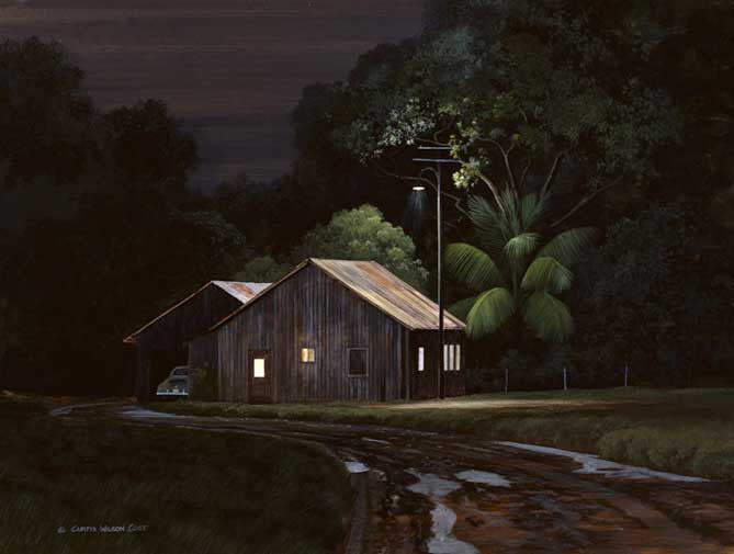 Plantation Night Light, Gallery Wrap, Various Sizes