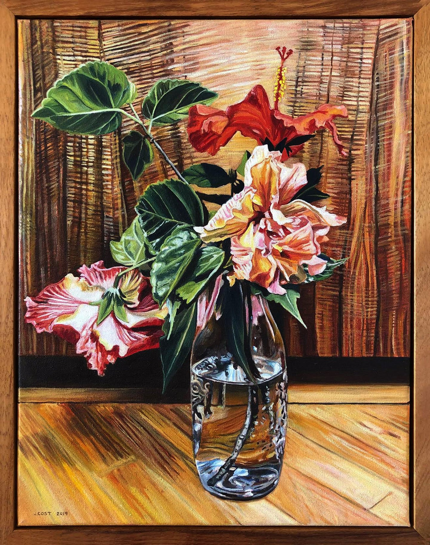 Wild Hibiscus (Julia Allisson Cost): Sold