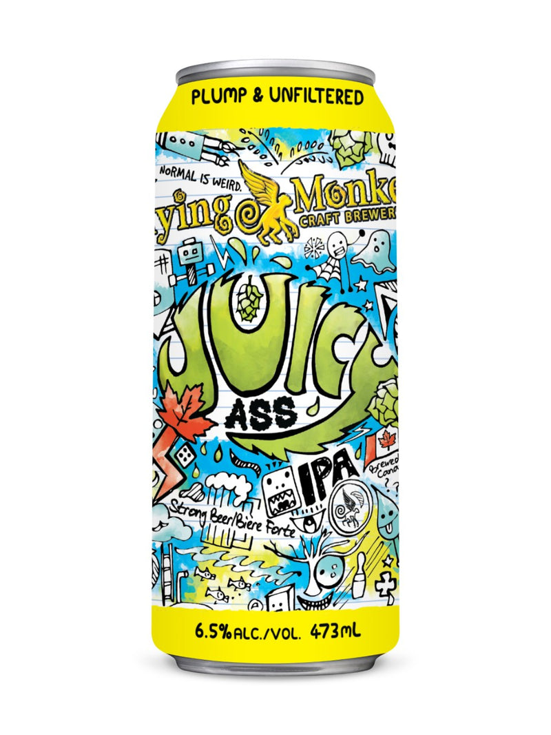FLYING MONKEYS- JUICY IPA - 473ml Can