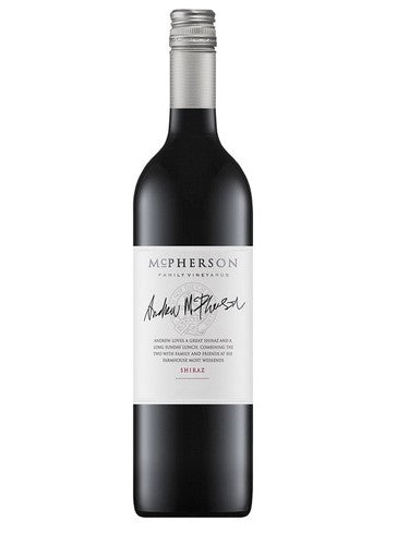 MCPHERSON WINES - SHIRAZ -  AUSTRALIA