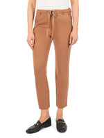 Drawcord Straight Leg Pant (Spice) Main Image