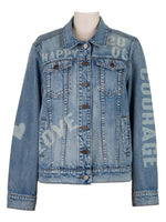 Boyfriend Denim Jacket (Infallible Wash) Main Image