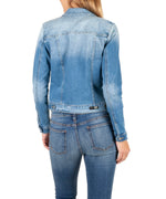 Denim Jacket (Adorn Wash) Hover Image