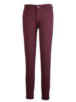 Ponte Slim Fit Ankle Skinny, Petite (Port Wine) Main Image