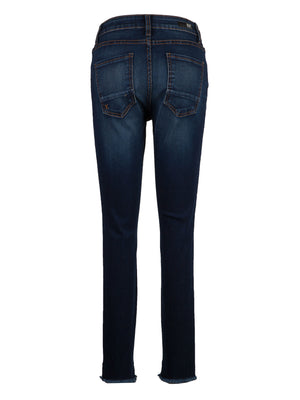 High Rise Slim Fit Ankle Skinny (Budding Wash)