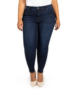 High Rise Fab Ab Slim Fit Skinny, Plus (Uncover Wash) Main Image