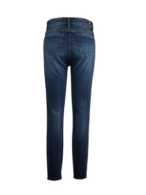 High Rise Slim Fit Ankle Skinny (Consonant Wash)