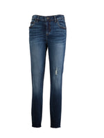High Rise Slim Fit Ankle Skinny (Consonant Wash) Main Image