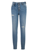 High Rise Slim Fit Ankle Skinny (Autonomous Wash) Main Image