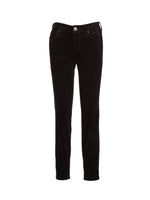 Corduroy Relaxed Fit Skinny, Petite (Charcoal Grey) Main Image