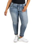 Relaxed Fit Ankle Straight Leg, Plus (Motive Wash) Main Image