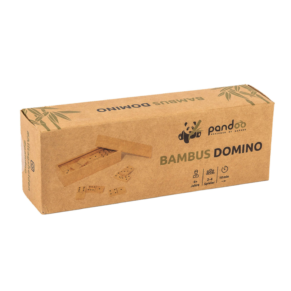 packaging of dominos game in kraft paper