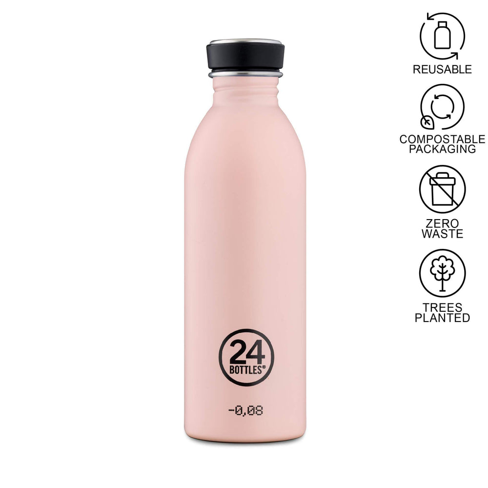 dusty pink urban bottle 500ml