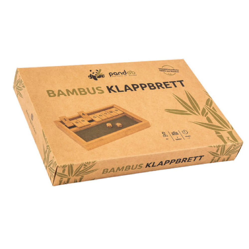 kraft paper packaging of bamboo klappbrett game