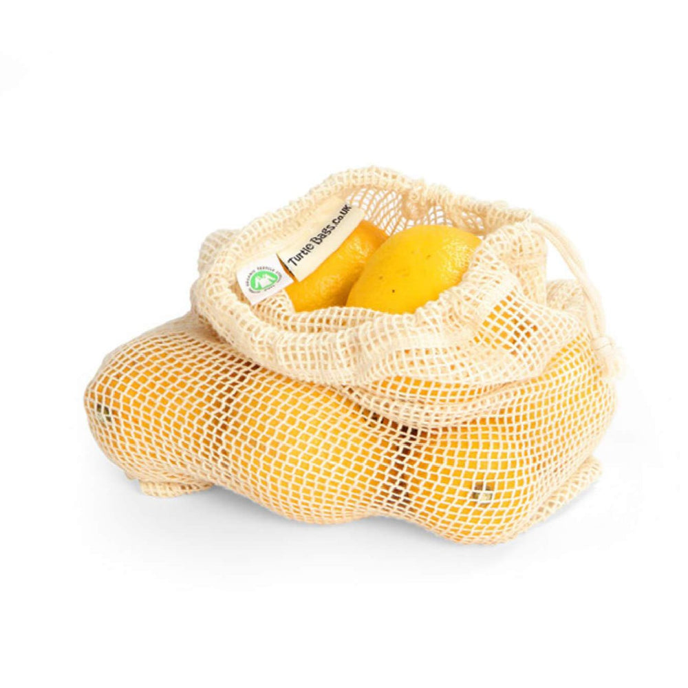medium size produce bag with lemons inside