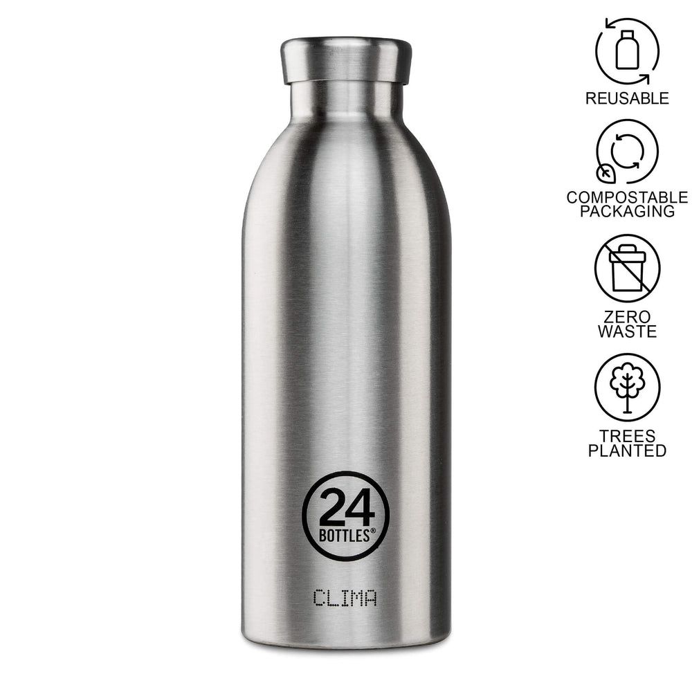 stainless steal 500ml water bottle 24 clima