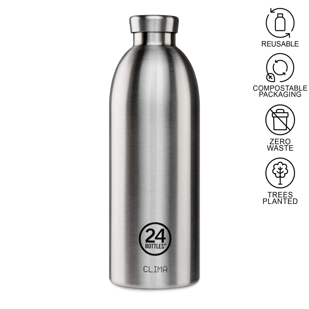 stainless steel 850ml water bottle clima