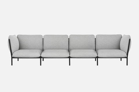Kumo Modular 4-Seater Sofa + Armrests