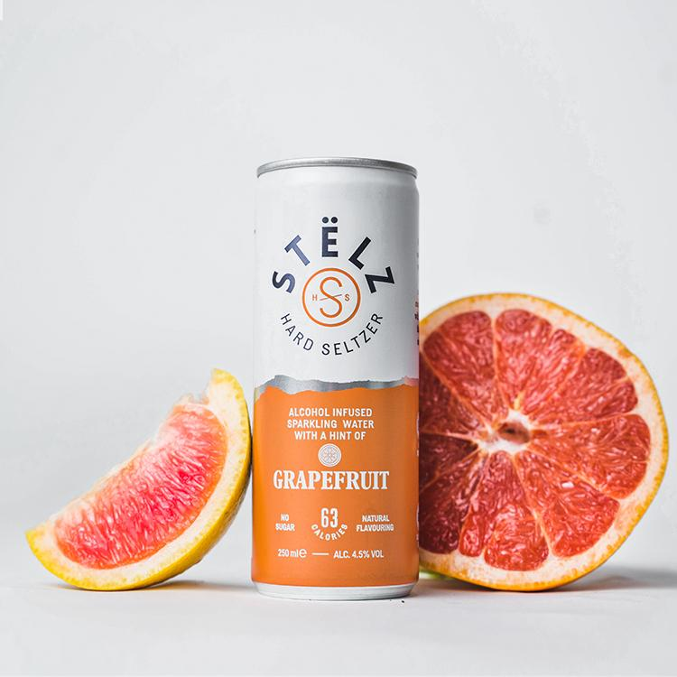 STËLZ Hard Seltzer Grapefruit