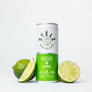 Load image into Gallery viewer, STËLZ Hard Seltzer Lime STËLZ Hard Seltzer