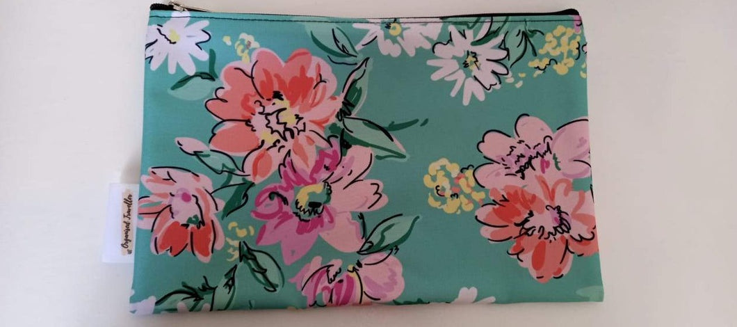 Abstract Floral Bag