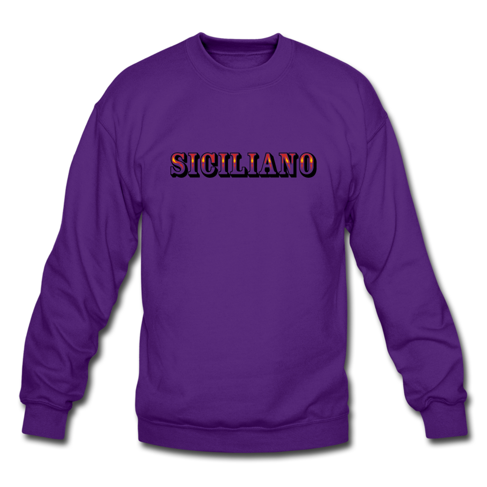 Siciliano Crewneck Sweatshirt - black