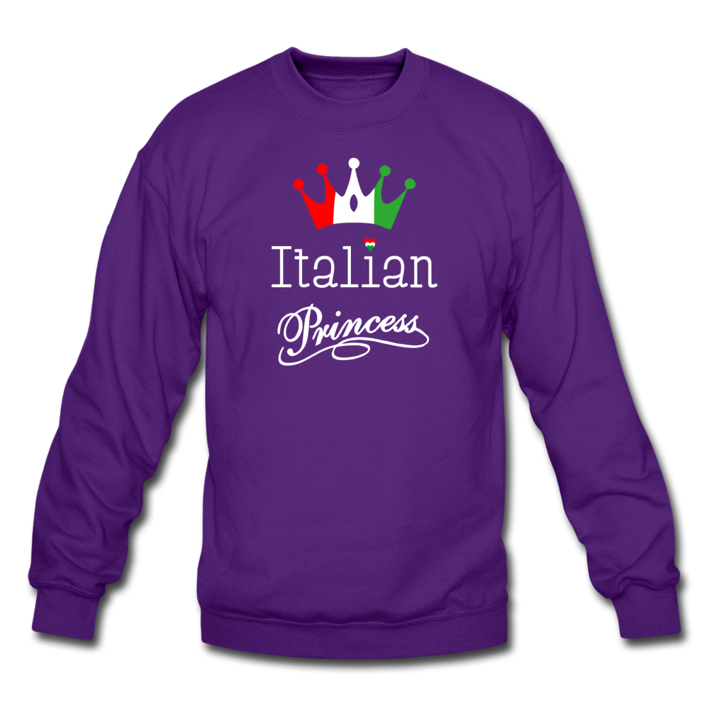 Italian Princes Crewneck Sweatshirt - black