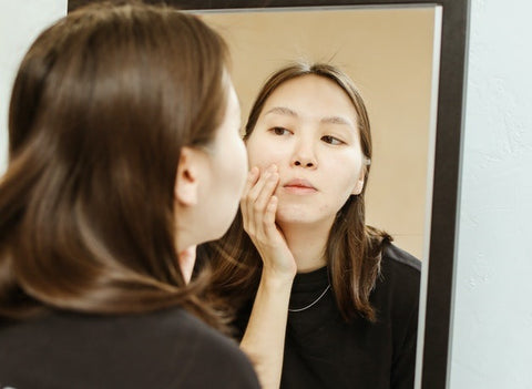 how to fix congested skin