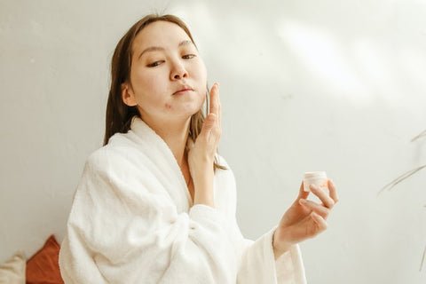 how to fix congested skin quick