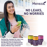 Meneza Menstrual Cup - India's First FDA Registered Cup