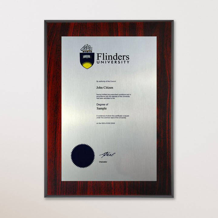 University Degree Plaques