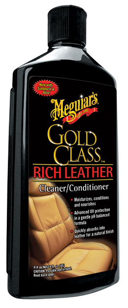 Meguiar's Gold Class Leather Cleaner Conditioner