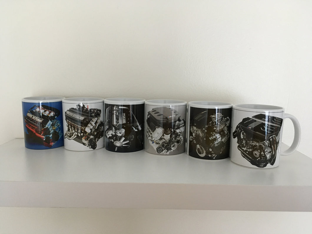BMW M3 Engine Collection (Printed Mugs)