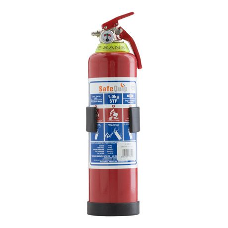 Safe-Quip DCP 1kg Fire Extinguisher with Bracket