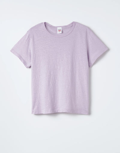 Heritage Cotton Classic Tee - Lilac