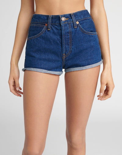 Double Needle Western Short - Dark 95