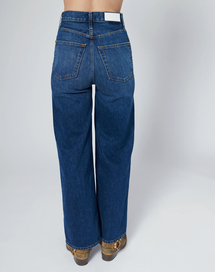 60s Extreme Wide Leg - True Blue