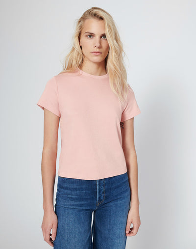Butter Soft Classic Tee - Blush