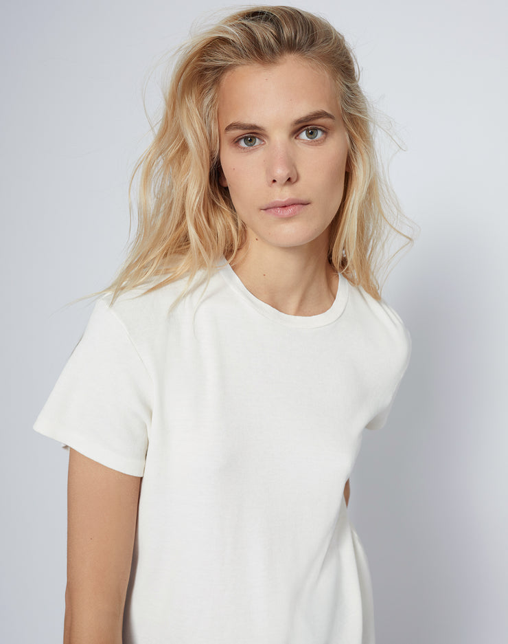 70s Oversized Butter Soft Tee - Vintage White