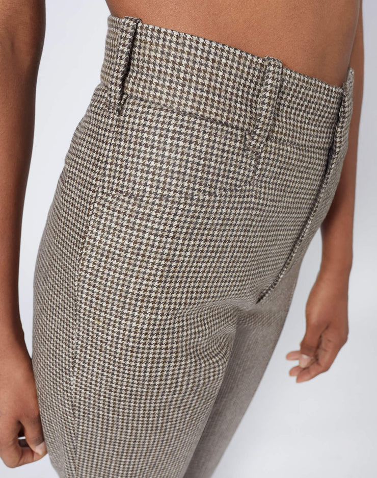 70s Trouser - Plaid
