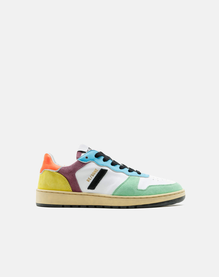80s Basketball Shoe - Multi Color