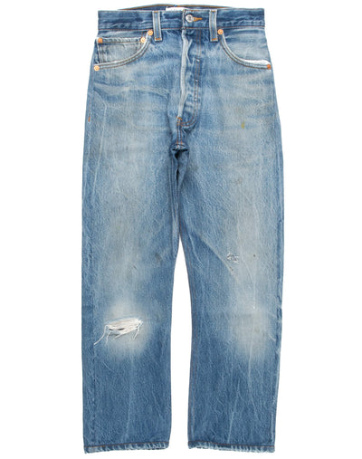 High Rise Ankle Crop Women s Jeans   RE DONE + Levi s 37ba71faac
