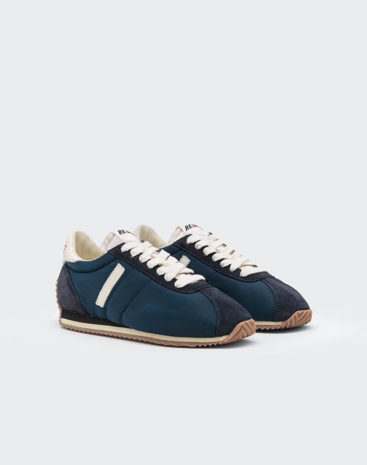 70s Runner Shoe - Navy and White